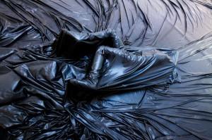 cloth (under cover) by Cristina Caprioli. Photo: Håkan Larsson. Dancers: Emelie Johansson & Cilla Olsen. Premiered April 12, 2011 at Moderna Museet, Stockholm.
