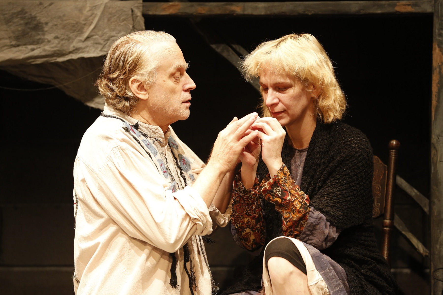 Bard Dourif and Amanda Plummer in Tennessee Williams' The Two-Character Play (photo:  Carol Rosegg).